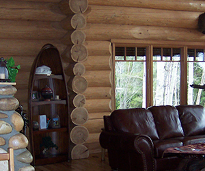 Acadian Log Homes